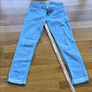 Hudson Bacara stone wash ankle jeans, size 27